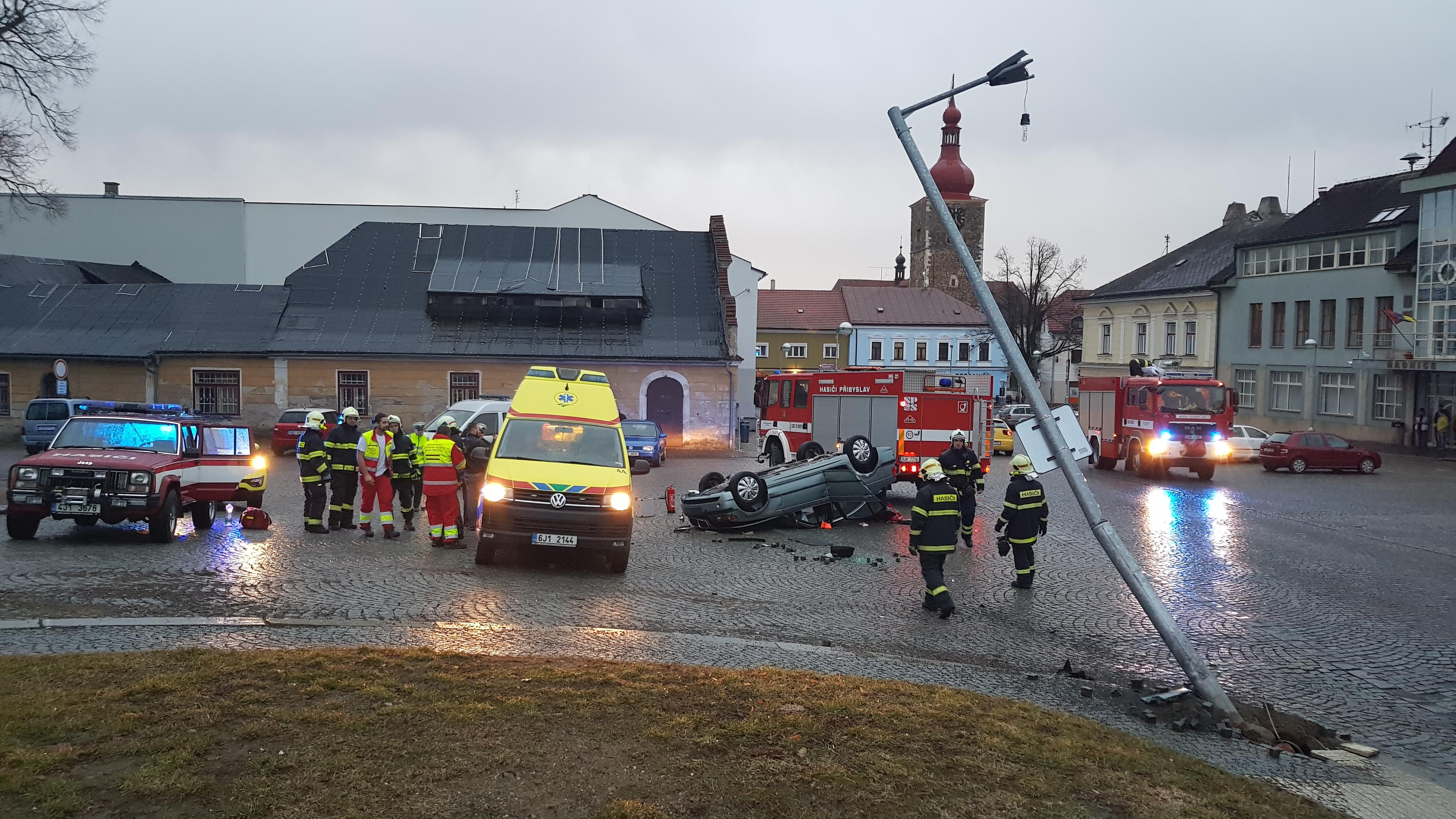 09.03. 2019 Dopravní nehoda