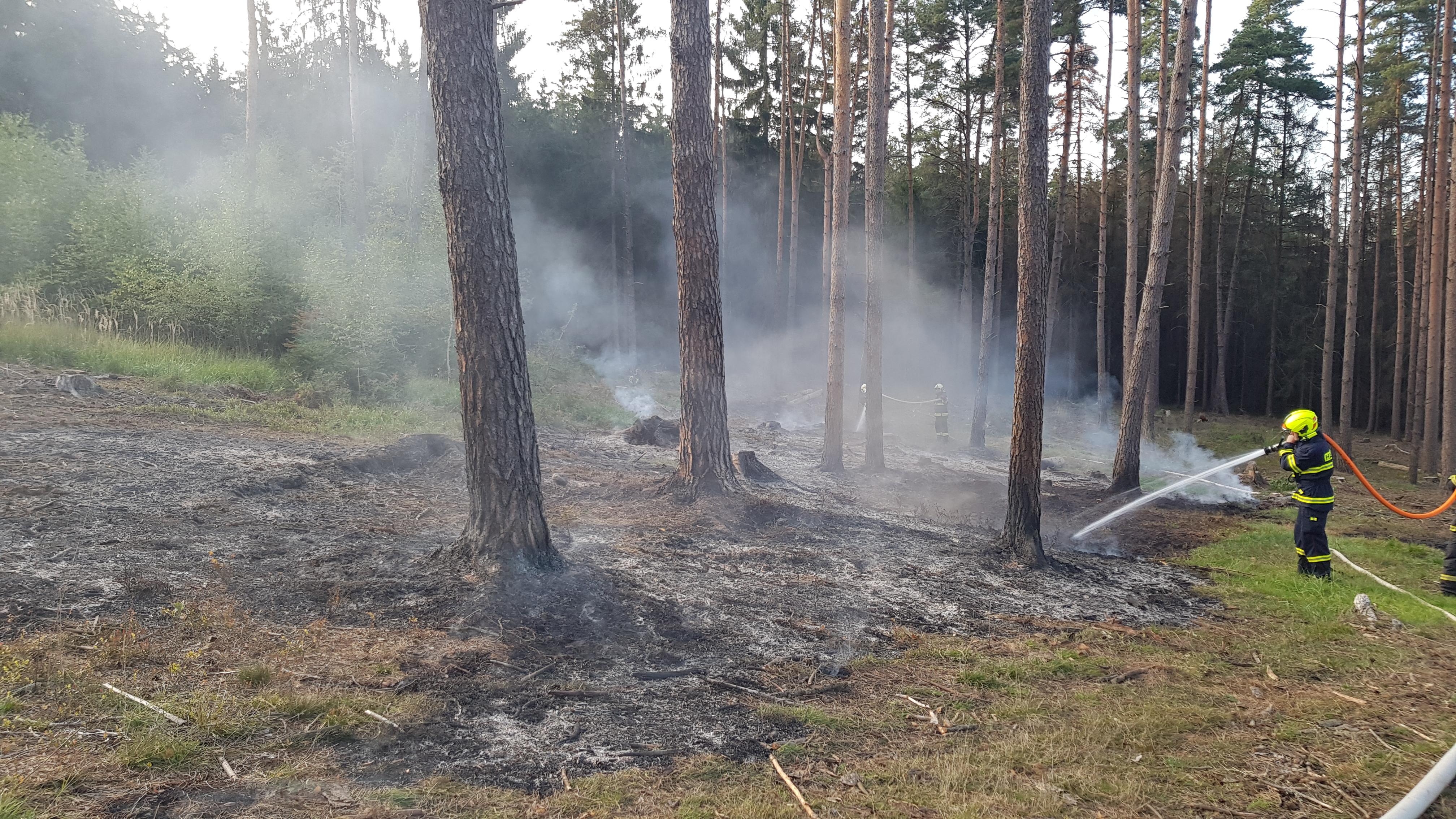 22.09. 2019 Lesní požáry